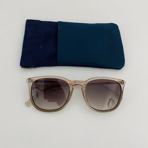 Le Specs Grey Rebeller Sunglasses
